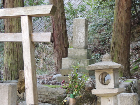 濱田藩岸静江墓