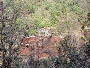 都茂鉱山選鉱場跡
