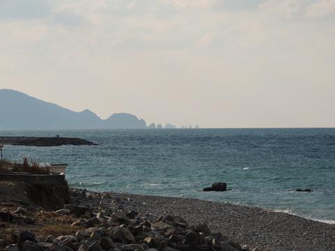 益田市 浮島の風景