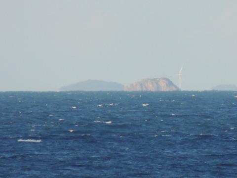 浜田市 馬島 鹿島 風車