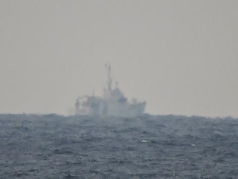 海上保安庁浜田海上保安部「巡視船あさま」益田市沖の風景2