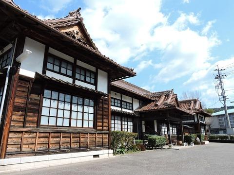 益田市歴史民俗資料館 左前面斜め下