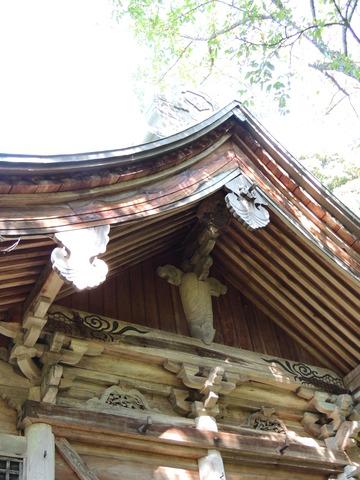 益田七尾山 住吉神社 本殿の構造的魅力