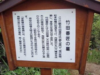 竹田番匠の墓