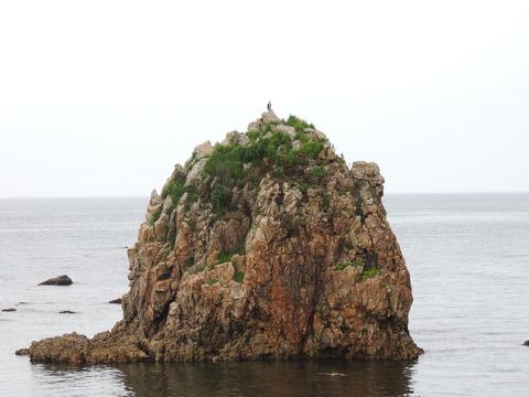 益田市 観音岩