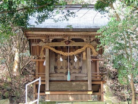 益田市 染羽天石勝神社の大元神社