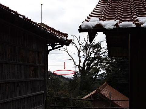 益田市の佐毘売山神社から見島2