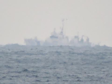 海上保安庁浜田海上保安部「巡視船あさま」益田市沖の風景4