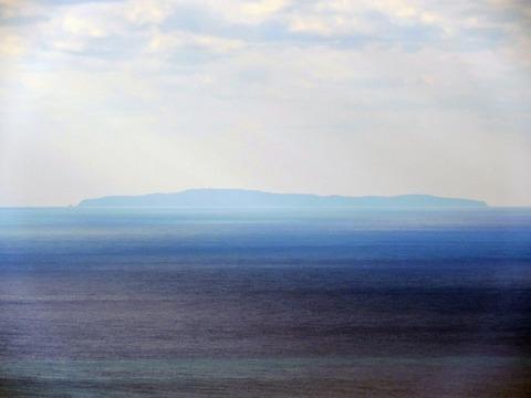益田市から見島