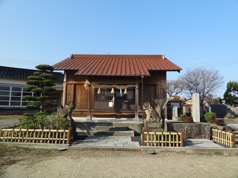 琴平神社 益田市 高津浜地区