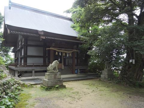 鍋島山八幡宮 益田市高津