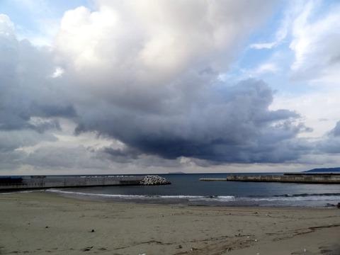黒雲1発生前