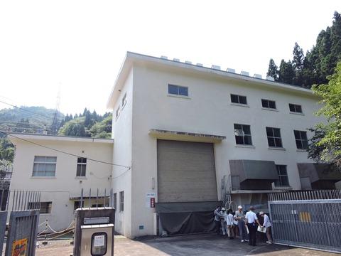 澄川発電所 外観
