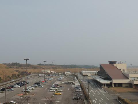 5数値90下の益田市 萩石見空港からの風景