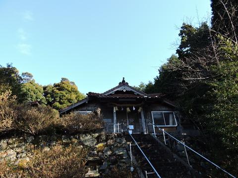 佐毘売山神社(式内社)益田市20150201