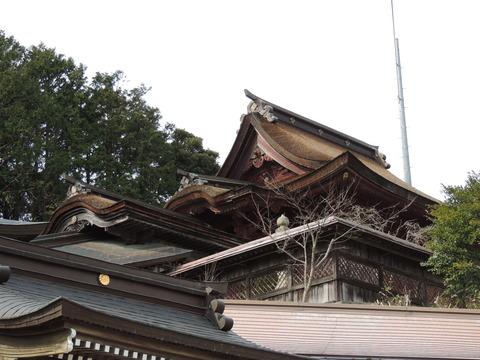 高津 柿本神社 本殿