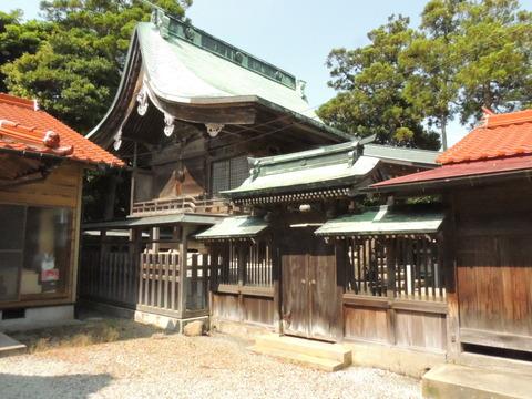 櫛代賀姫神社 本殿  益田市内の国登録有形文化財(建造物)