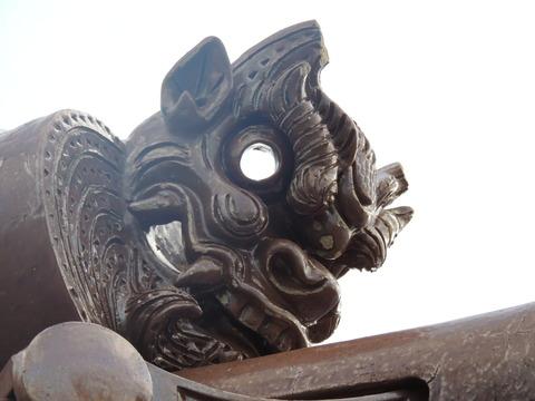 恵比寿神社 鬼瓦 正面右