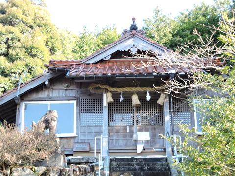 佐毘売山神社(式内社)益田市20150201s