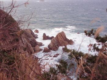 人形道からの海