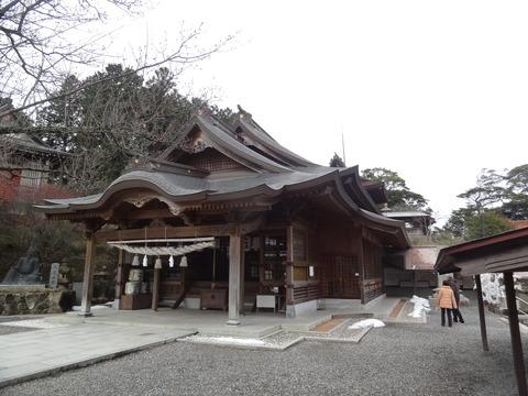 高津柿本神社平成10年の拝殿新築後