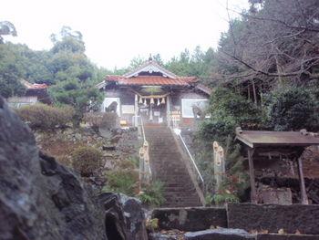 益田市の佐毘売山神社(今年2009年の正月に撮影)