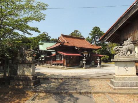 櫛代賀姫神社 益田市