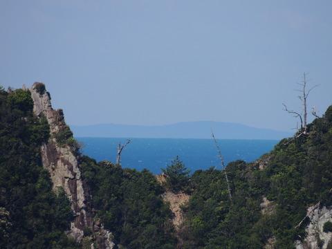 鑪崎のくびれ 見島