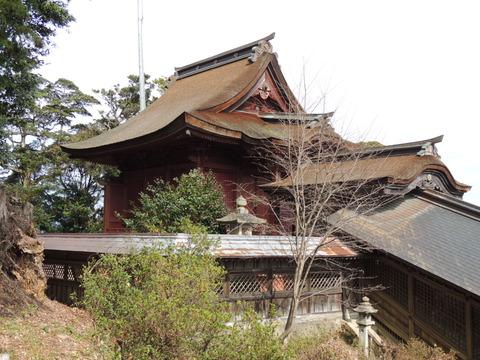 高津 柿本神社本殿