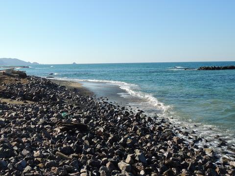 益田市の風景 持石海岸の今