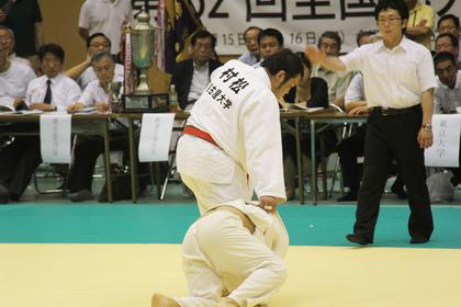 七帝柔道試合2