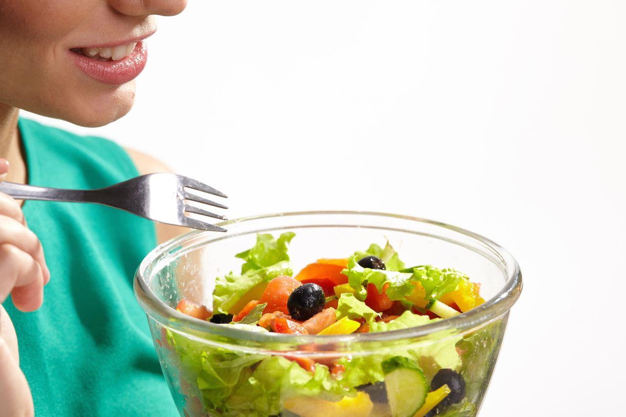 食物繊維を多く含む食事