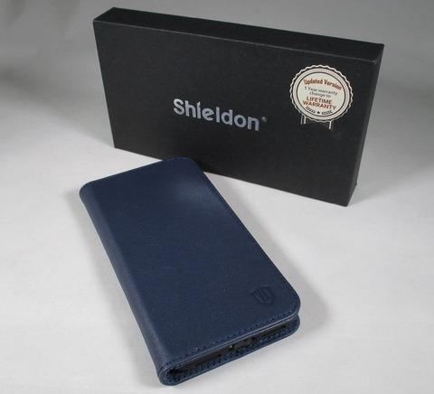 SHIELDON iPhone X ケース 手帳型オートスリープ対応10