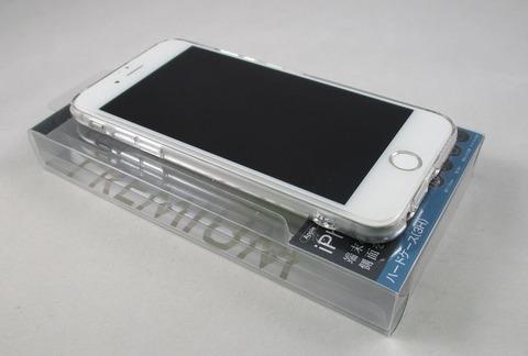 レイ・アウト iPhone 66s プレミアムハードケース クリア12