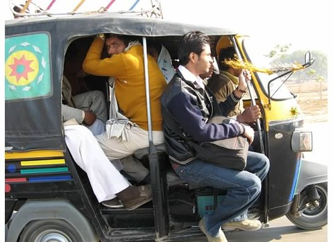 people-in-Auto-rickshaw-side
