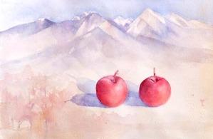 256紅い小さなりんご-2