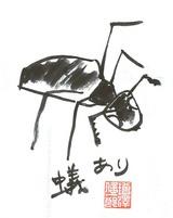 蟻のイラスト1