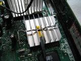 チップセットの温度計取り付け位置