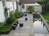 Bath hotel garden 2