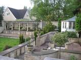 Bath hotel garden