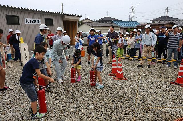 高浜市総合防災訓練が行われました。の画像