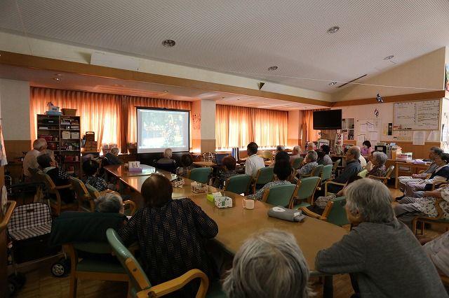 葭池デイサービスセンターにて「たかはまアーカイブス報告会」を開催しました。の画像
