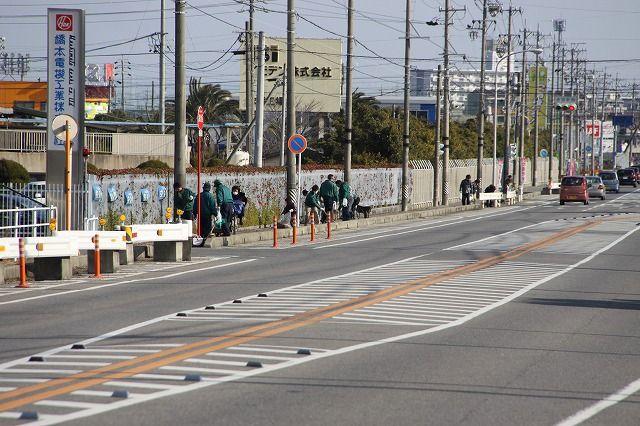 クリーン大作戦Ⅱ 道路清掃&おしるこ会を開催しました。の画像