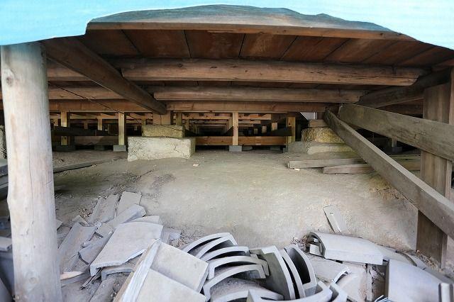 寿覚寺耐震補強工事取材の画像