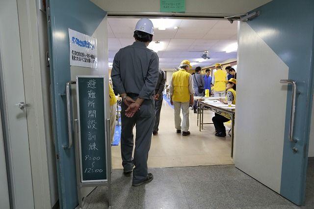 高浜市総合防災訓練 『避難所開設訓練』が行われました。の画像