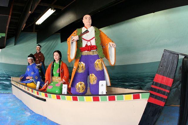 吉浜細工人形『平清盛厳島神社詣で』『三国志』の画像
