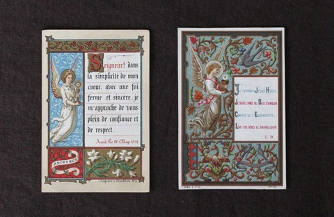 antique holycard