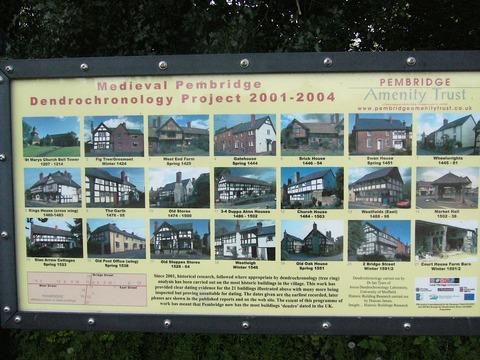 ペンの家々