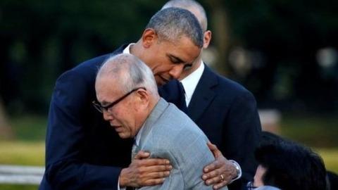 【伊勢志摩サミット】オバマ大統領広島訪問し原爆被災者をハグする姿に賞賛の声が!! 2ch「やっと70年前の戦争が終わった   ような気がする」