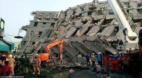 台湾地震、死者60人超に……1つのビルだけ倒壊した原因は改築工事に有りか!?